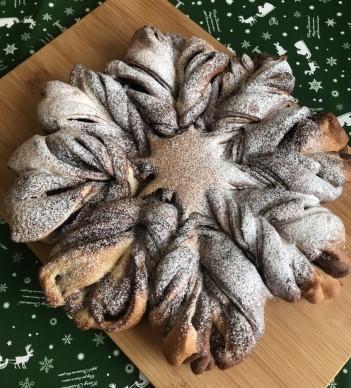 雪の結晶パン①