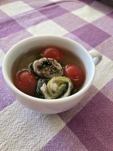 2ロールレタススープ仕立て