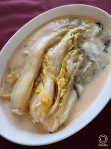 3白菜のとろとろミルク煮